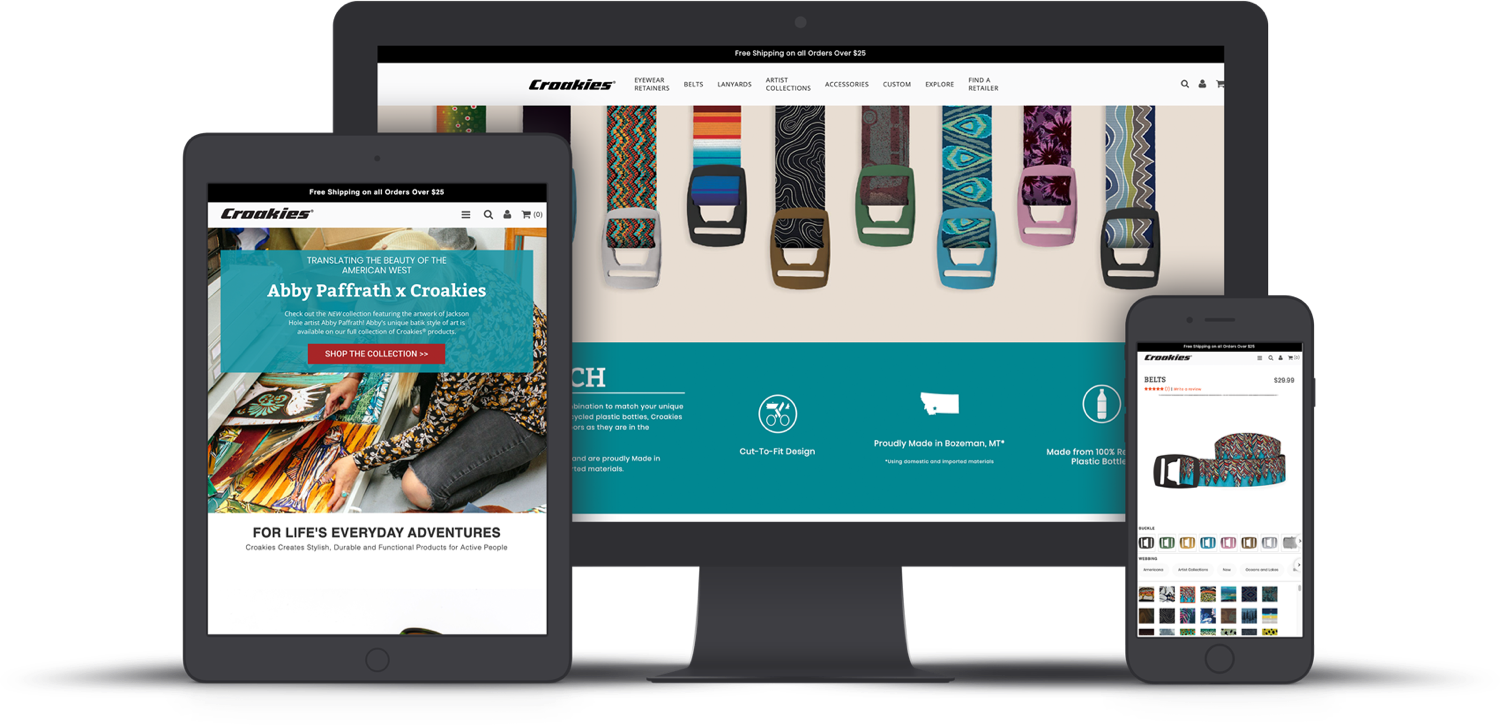 BELTS ARE THE NEW BLACK: How Croakies uses color to drive engagement feature image