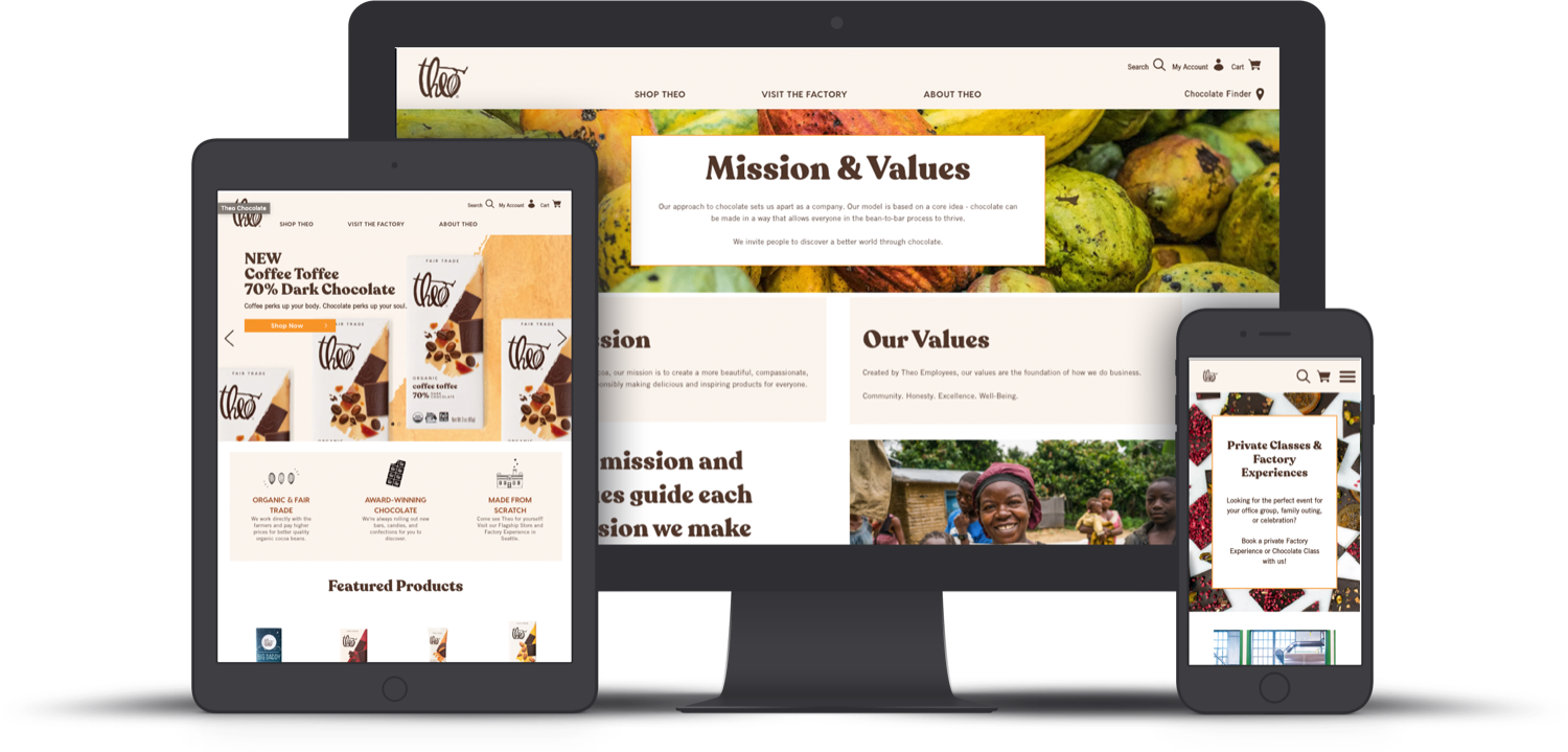 Theo Chocolate migrated onto BigCommerce in 90 days. feature image