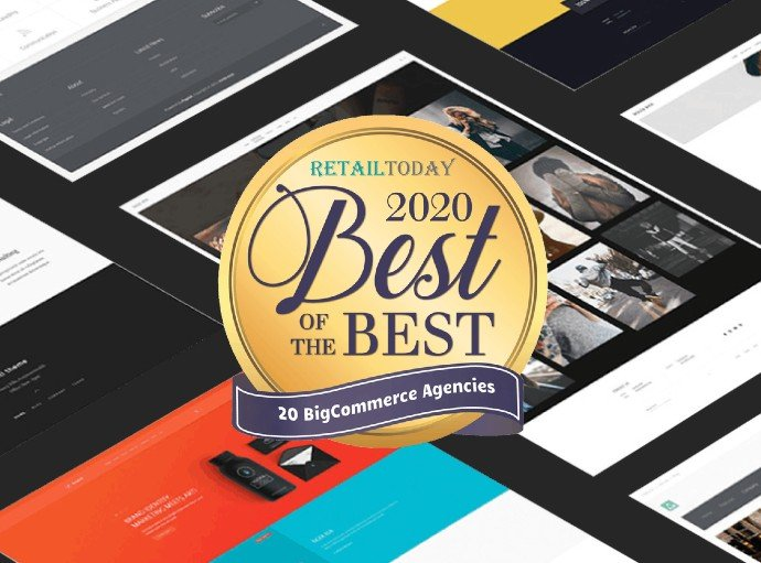 Mercutio Wins Again in Retail Today's 2020 Best of the Best 20 BigCommerce Agencies feature image