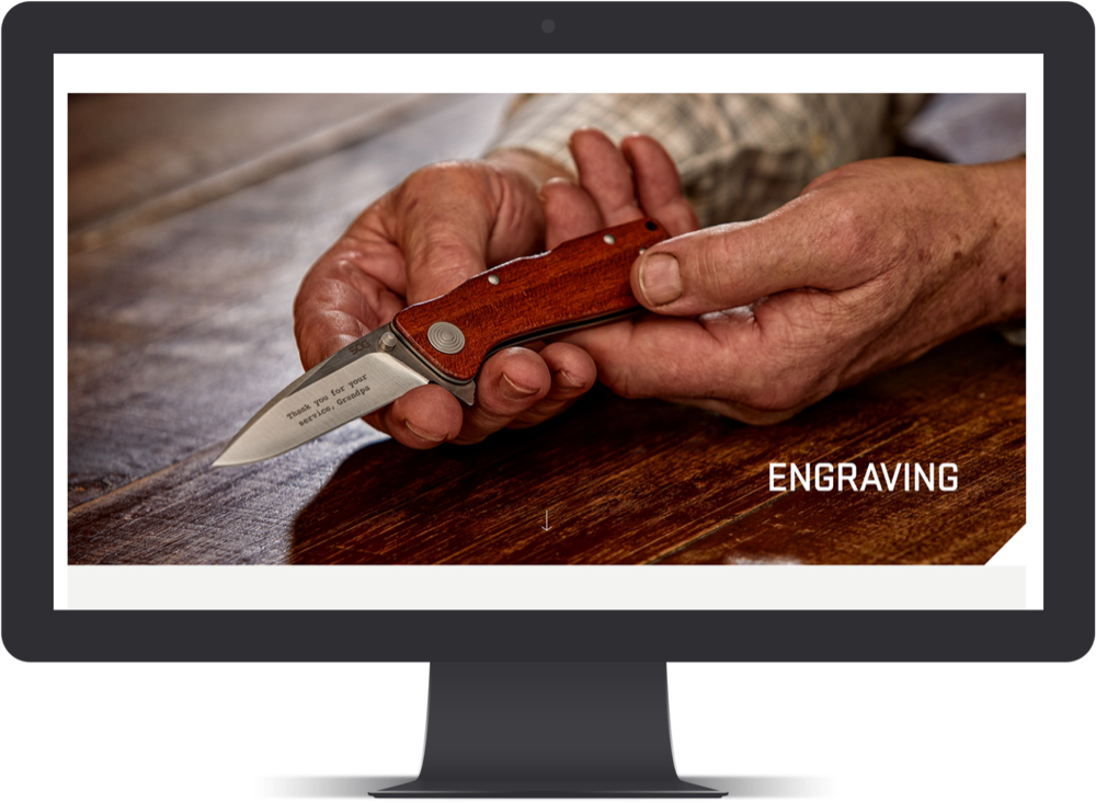 SOG Engraving Feature